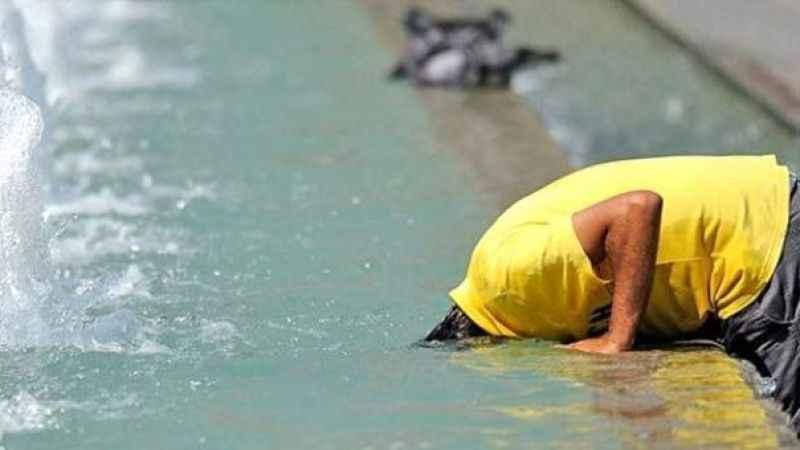 İstanbul'da hissedilen sıcaklık 44 dereceyi buldu