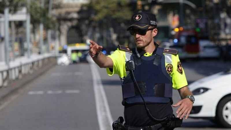 Barselona saldırısının dehşet veren görüntüleri...