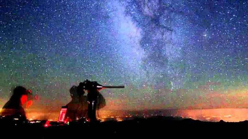 Astronom Alex Cherney'nin 1 yıllık çalışması ve muhteşem gökyüzü görüntüsü