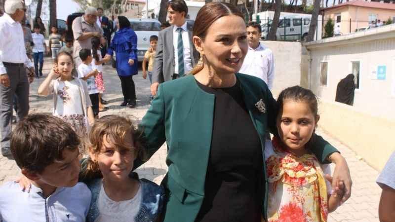 Azeri vekilden Bayırbucak Türkmenlerine ziyaret