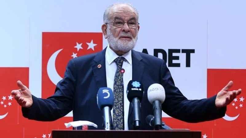 Saadet Partisi Genel Başkanı Temel Karamollaoğlu: Bölge insanını ABD'nin kucağına itemeyiz (28 Eylül)