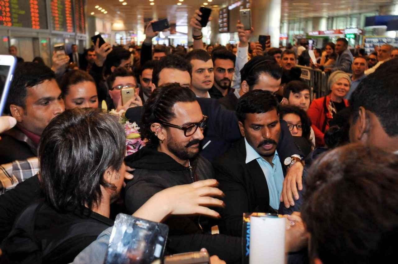 Bollywood yıldızı Aamir Khan İstanbulda