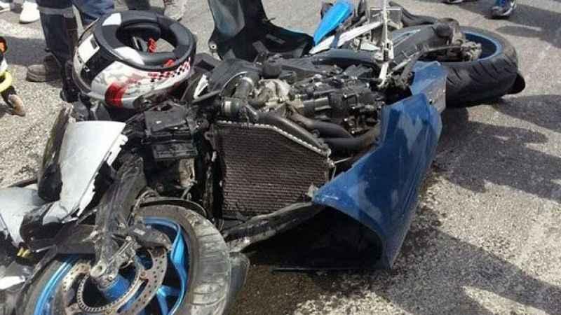 Motosiklet sürücüsü 6 yaşındaki çocuğa böyle çarptı