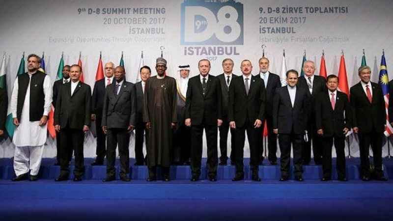 İstanbul'da D-8 Ekonomik Zirvesi