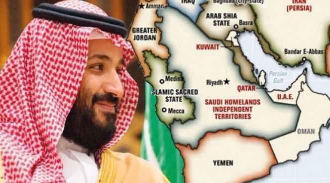 Arabistan 4 parçaya bölünüyor