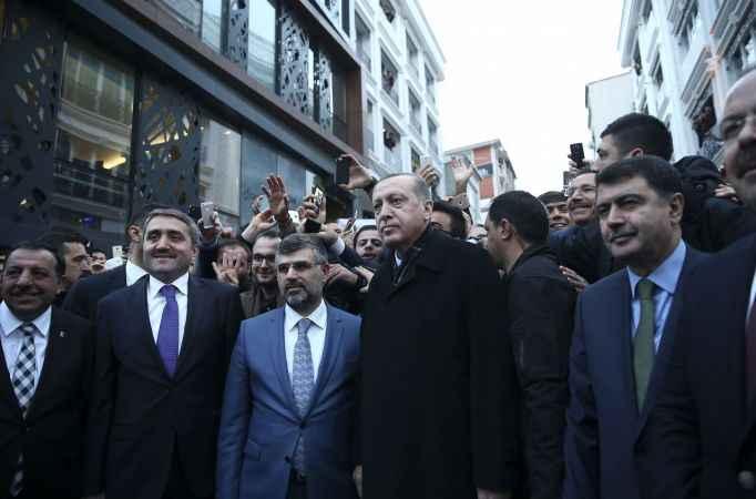 Cumhurbaşkanı Recep Tayyip Erdoğan İstanbul'da