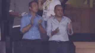 Ali Koç o golü ayakta alkışladı!