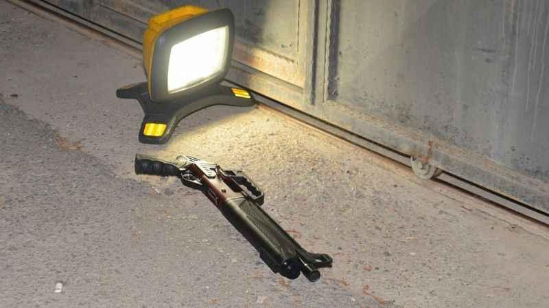 10 yaşındaki çocuk, pompalı tüfekle motosikletliyi vurdu