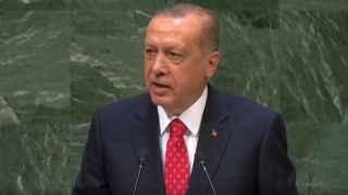Cumhurbaşkanı Erdoğan Birleşmiş Milletler'de konuştu
