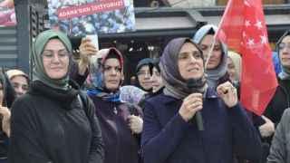 """Saadet Partisi Kadın Kolları'ndan yerli gıda çağrısı: """"Kendi çiftçimiz kazansın"""""""